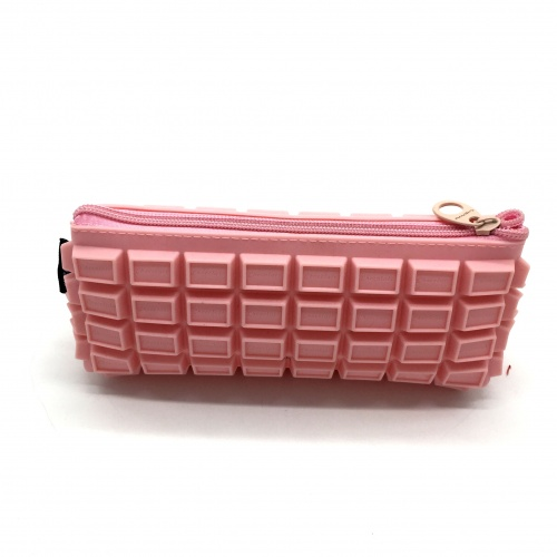 New technology cheap zipper silicone cosmetic bag