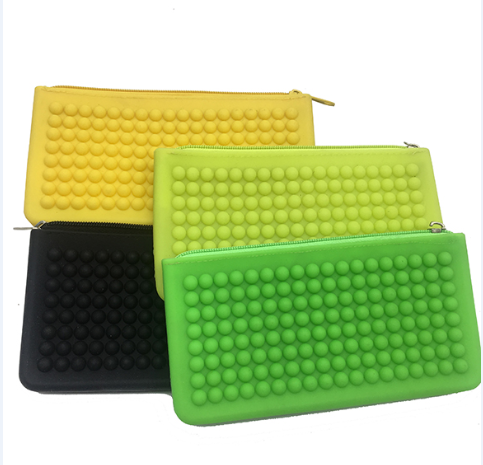 Peas hand money bag silicone coin purse wallet
